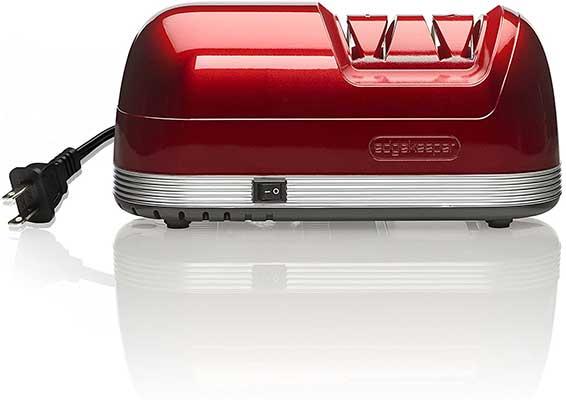 EdgeKeeper Electric Knife Sharpener, Red