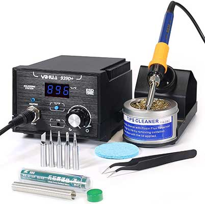 Yihua 939D+ Digital Soldering Station, 75W