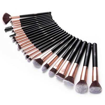 Anjou Makeup Brush Set, 24 Pcs