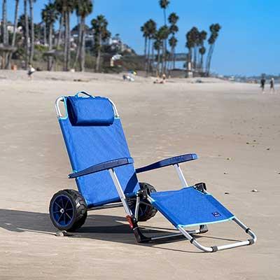 Mac Sports 2-in-1 Beach Day Folding Lounge