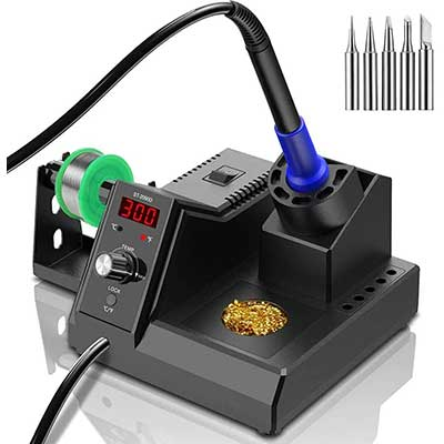 Soldering Station,110V80W Digital Soldering Iron-Kit
