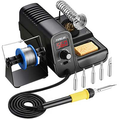 TOPELEK 60W Soldering Iron Station Kit