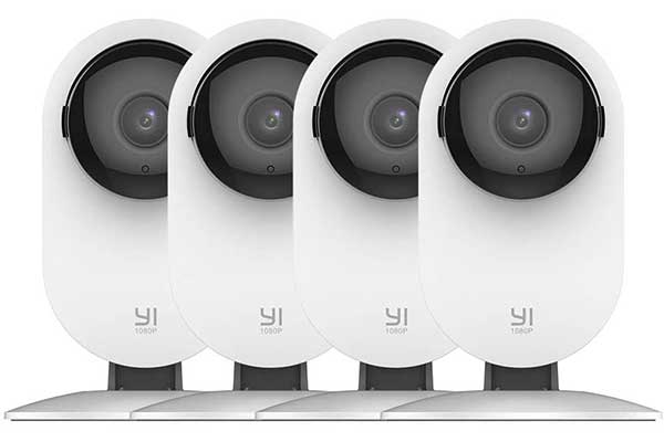YI 4Pc Security Home Camera, 1080p