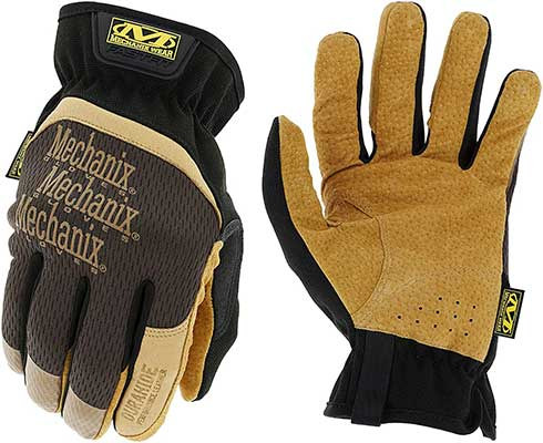 Mechanic Wear: DuraHide FastFit Leather Work Gloves