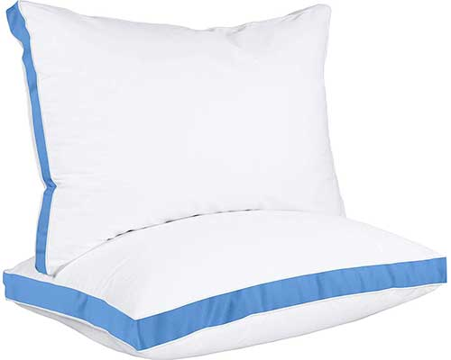 Utopia Bedding Gusseted Pillow 2-Pack