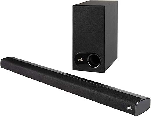 Polk Audio Signa S2 Ultra-Slim Wireless TV Sound Bar