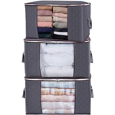 Lifewit Large Capacity Clothes Storage Containers