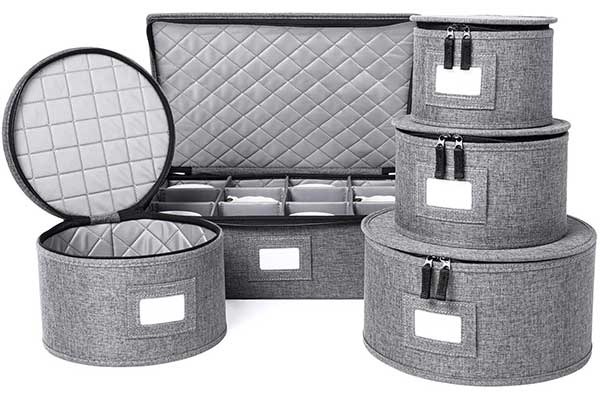 China Storage Set, Hard Shell, and Stackable