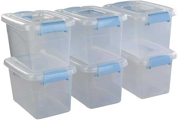 Doryh 5 L Plastic Storage Bin