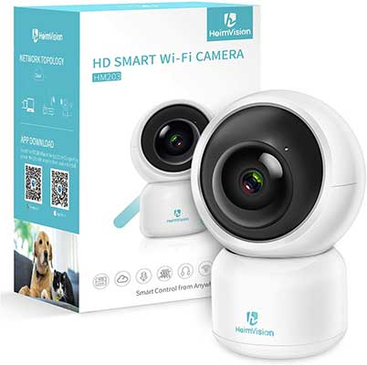 HeimVision 1080P Security Camera, HM203 UG Wi-Fi Home Indoor Camera