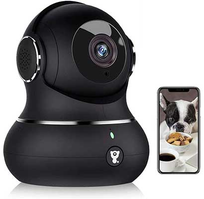 Indoor Security Camera, Littlelf 1080p Home Wi-Fi Wireless IP Camera