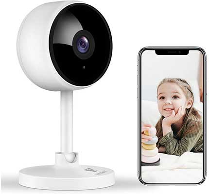 Home Security Camera, Littlelf 1080P FHD Indoor Wireless Camera