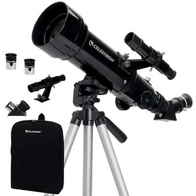 Celestron –70mm TravelScope – Portable Refractor Telescope