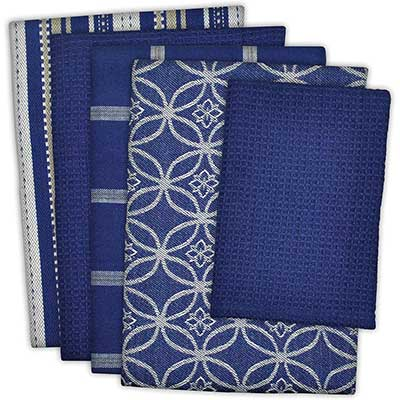 DII Cotton Oversized Kitchen Dish Towels 18 by 26 inches