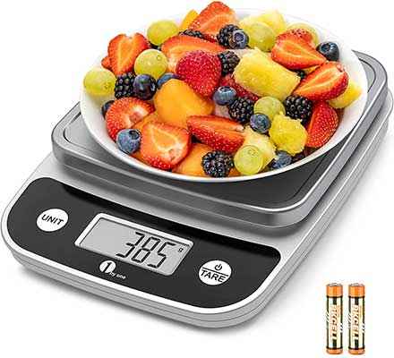 1byone Digital Food Kitchen Scale 11 Lb