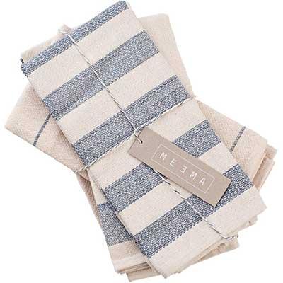 MEEMA Dish Towels Cotton Kitchen Towels   Super Absorbent