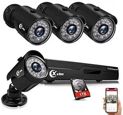XVIM 8CH 1080P Security Camera System Home Security Outdoor