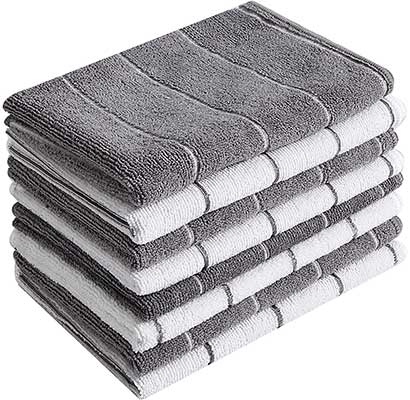 Microfiber Kitchen Towels – Super Absorbent, Soft, and Solid Color
