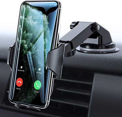 VICSEED Car Phone Mount, Thick Case, and Big Phones