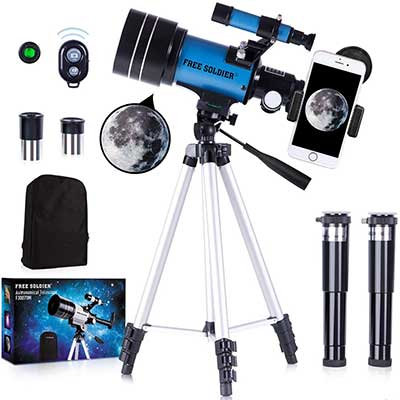 FREE SOLDIER Telescope for Kids& Astronomy Beginners