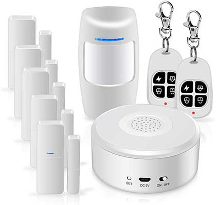 Wi-Fi Alarm System Kit Smart Security System DIY