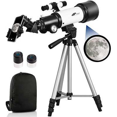 Telescopes for Adults, 70mm Aperture 400mm AZ Mount