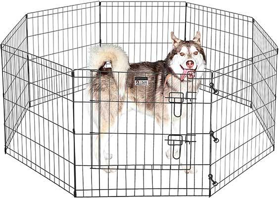 Pet Trex Foldable Metal Pet Exercise Playpen