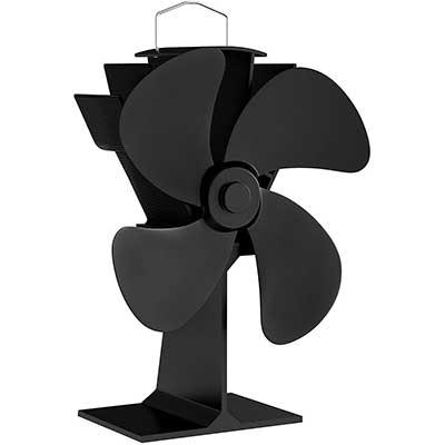 Home-Complete Stove Fan - Heat Powered Fan