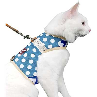 Yizhi Miaow Cat Harness and Leash
