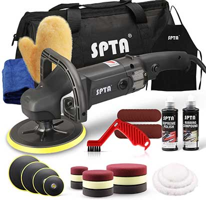SPTA Buffer Polisher, 7Inch 180mm Rotary Polisher