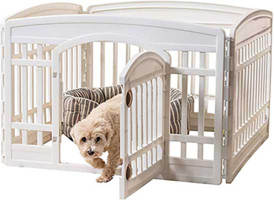 IRIS USA Exercise Panel Pet Playpen