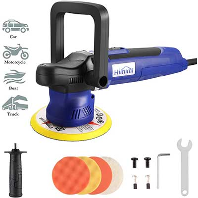 Himimi Polisher, Orbital Polisher with 6 Variable Speeds