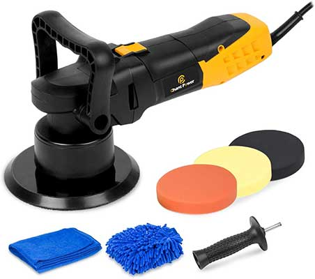 Buffer Polisher, 6 Inch Dual Action Polisher