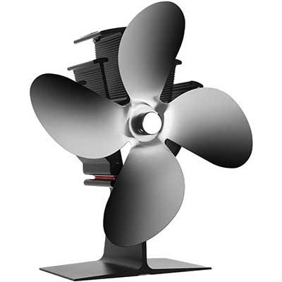 CXhome Heat Powered Stove Fan