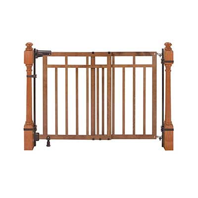 Summer Banister and Stair, Top of Stair Baby Gate