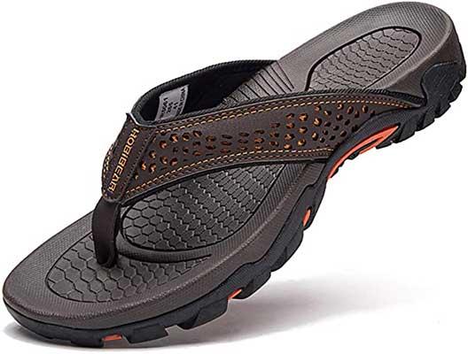 GUBARUN Men's Sport Flip Flops Comfort Casual