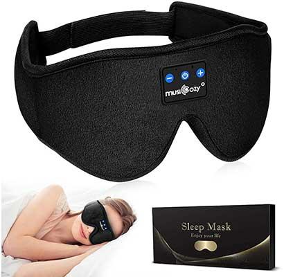 MUSICOZY Sleep Headphones Bluetooth Headband Sleeping Headphones