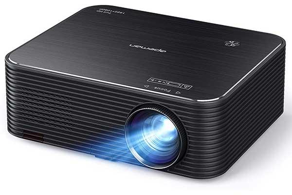 Projector, APEMAN Native 1920x1080P HD Portable Projector