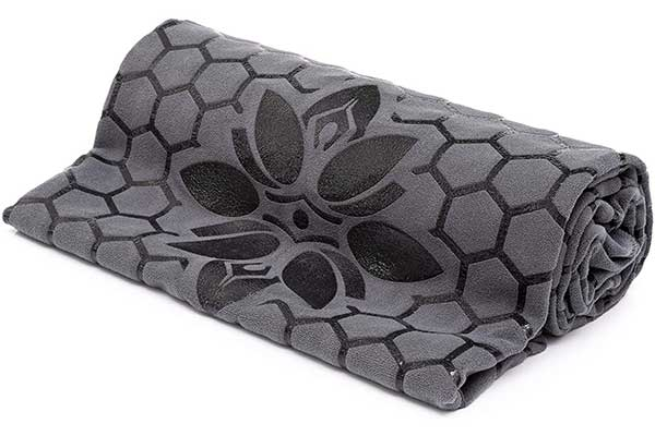 Yoga Mat Towel Non-Slip, Smooth Two-Sided