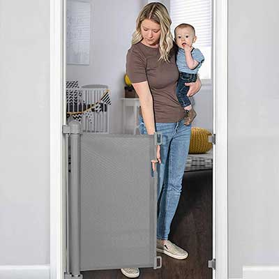 YOOFOR Retractable Baby Gate