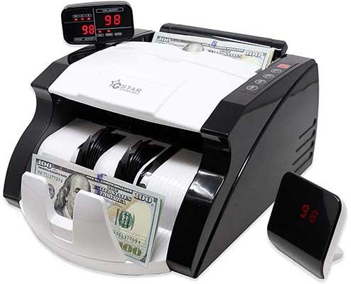 Gstar Money Counter with UV/MG/IR Counterfeit Bill Detection Machine