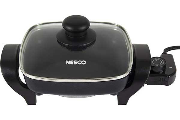 Nesco, Black, ES-08, Electric Skillet, 8-inch, 800Watts