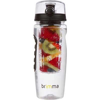 Brimma Leak Proof Fruit Infuser Water Bottle, Large 320z