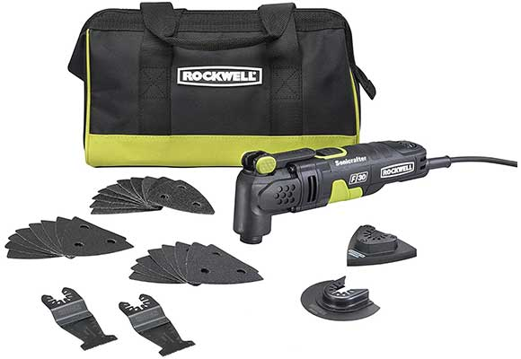 Rockwell RK5132K 3.5 Amp Sonicrafter F30 Oscillating Multi-Tool