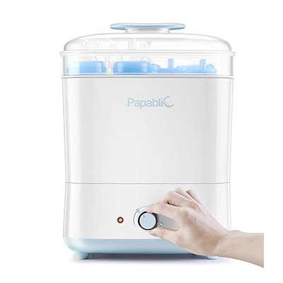 Papablic Baby Bottle Electric Steam Sterilizer & Dryer