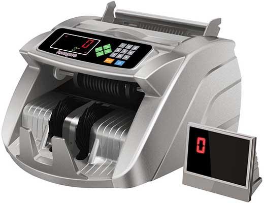 Money Counter Machine With UV/MG/IR Detection, Kaegue Bill Counting Machine