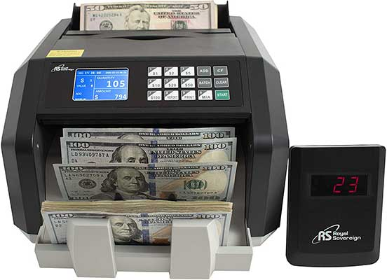 Royal Sovereign High-Speed Money Counting Machine
