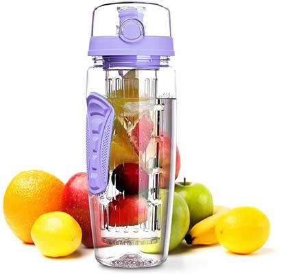 OMORC OZ Sport Fruit Infuser Water Bottle