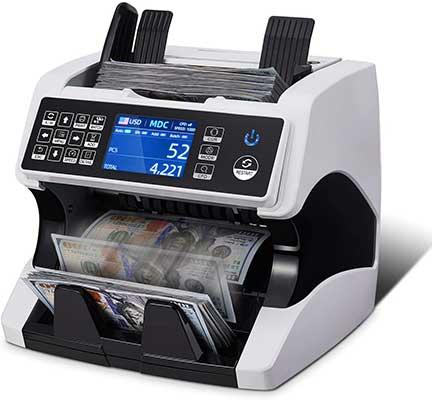 MUNBYN Bank Grade Money Counter Machine