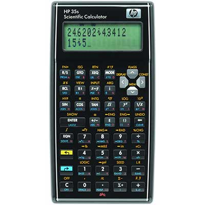 HP 35S 35S Programmable Scientific Calculator